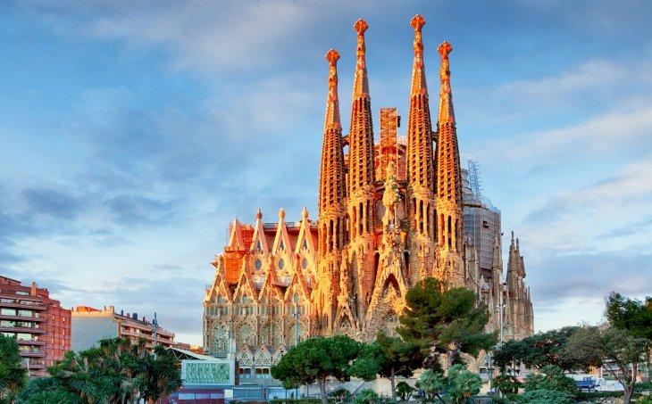 Façana del Naixement de la Sagrada Família