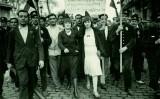 Manifestació popular amb motiu de la proclamació de la República