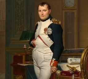 Retrat de Napoleó Bonaparte fet per Jacques-Louis David