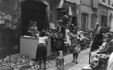 Carrer de l'Om. Fotografia del 10 d'abril de 1934