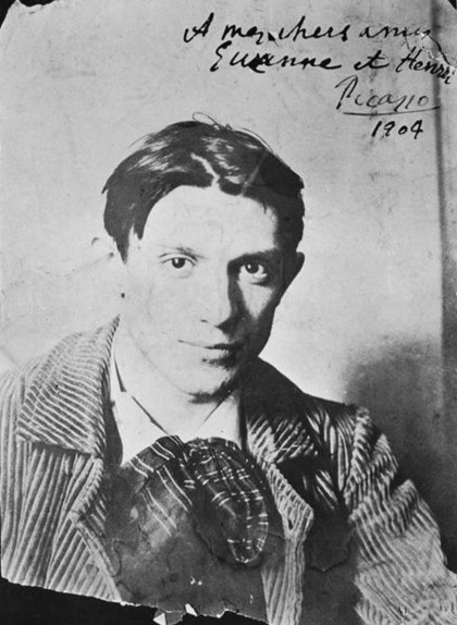 Pablo Picasso a París, el 1904