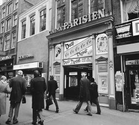 'Deep Throat' al cinema Parisien d'Amsterdam, el febrer de 1977