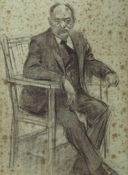 Retrat de Valentí Almirall - Ramon Casas