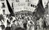Manifestació a Banyoles. 18 de febrer de 1936