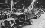 Camió de les milícies d'Esquerra, el 1936
