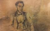 Narcís Monturiol retratat per Ramon Martí Alsina