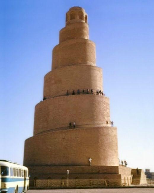 Minaret de la gran mesquita de Samarra (Iraq) -  IgorF / Creative Commons