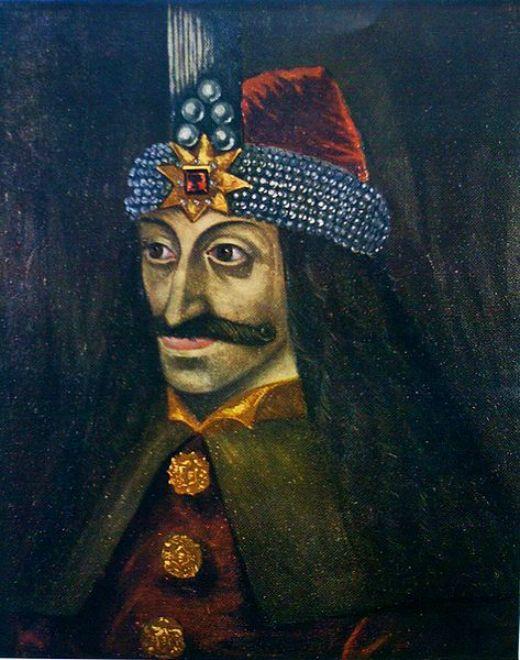 Retrat de VladȚepeș (l'Empalador), príncep de Valàquia -  Nicolae Iorga / Wikimedia commons