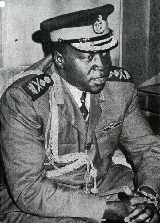 El dictador ugandès Idi Amin -  Archives New Zealand / Wikimedia commons