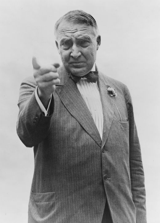 Warren G. Harding, probablement, durant la campanya presidencial de 1920 -  Autor desconegut / Library of Congress / Wikimedia Commons