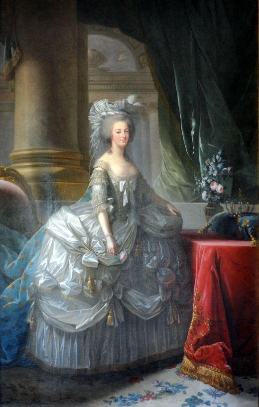 Maria Antonieta d'Àustria, reina de França (1783) -  Louise Elisabeth Vigée Le Brun / Starus / Wikimedia Commons