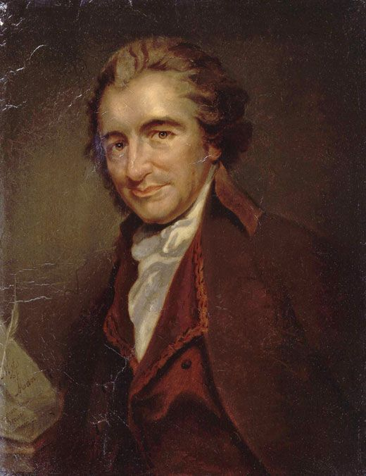 Retrat de Thomas Paine