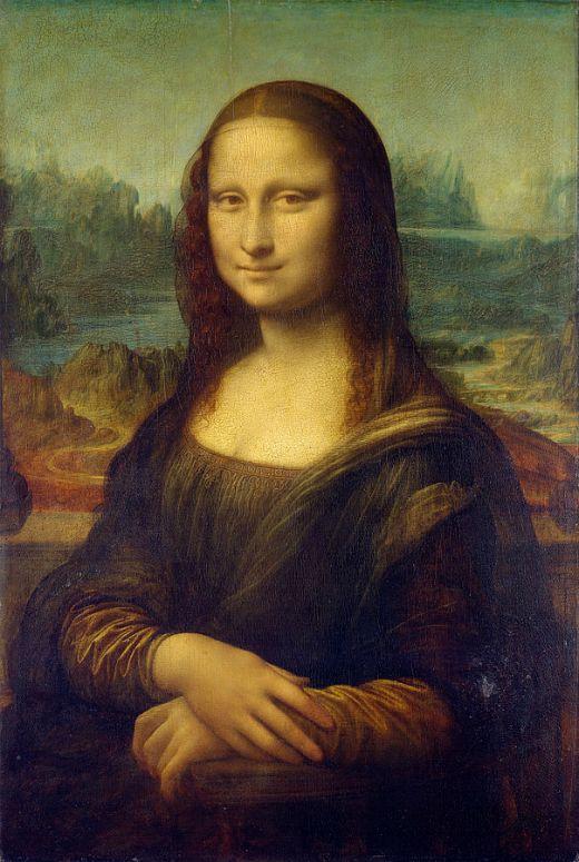 Retrat de Lisa Gherardini, conegut amb el nom de 'Monna Lisa' o 'La Gioconda' -  Leonardo da Vinci / C2RMF / Wikimedia Commons
