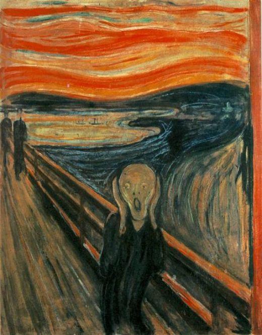 'El crit', d'Edvard Munch (1893) -  ibiblio.org / Multichill / Wikimedia Commons