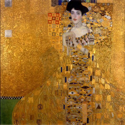 'Retrat d'Adele Bloch-Bauer I' (1907), de Gustav Klimt -  Neue Galerie New York / Aavindraa / Wikimedia Commons