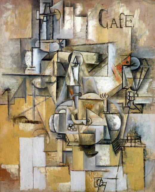 'Le pigeon aux petit pois' (1911), de Pablo Picasso -  Coldcreation / Wikimedia Commons