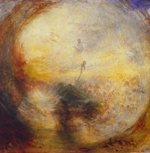 'Light and colour. The morning after the deluge' (1843), de Joseph Turner -  M0tty / Wikimedia Commons