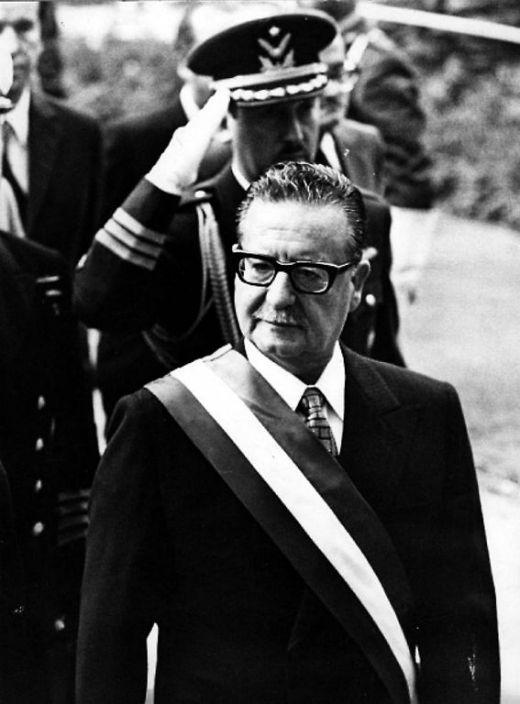 Salvador Allende entre el 1970 i el 1973