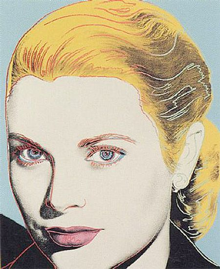 Grace Kelly - Andy Warhol