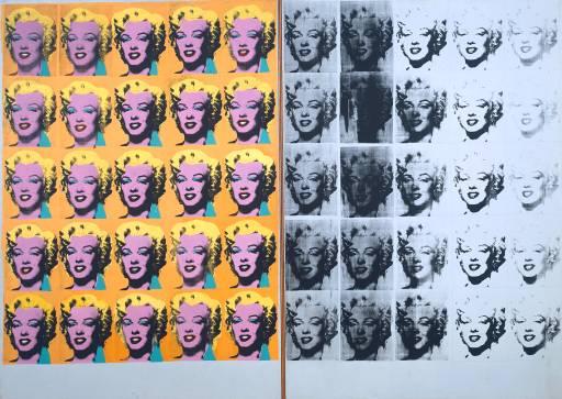 Díptic Marilyn - Andy Warhol