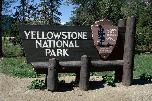 Yellowstone - Entrada