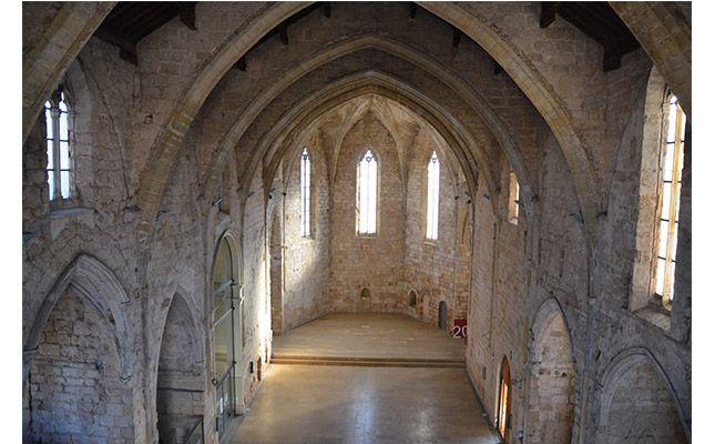 Interior del convent de Sant Francesc de Montblanc