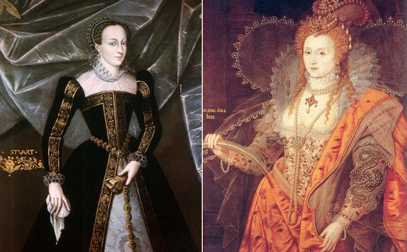 Retrats de Maria d'Escòcia i d'Elisabet I