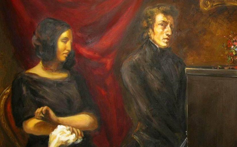 Retrat de George Sand i Frédéric Chopin -  Eugène Delacroix / Wikimedia Commons