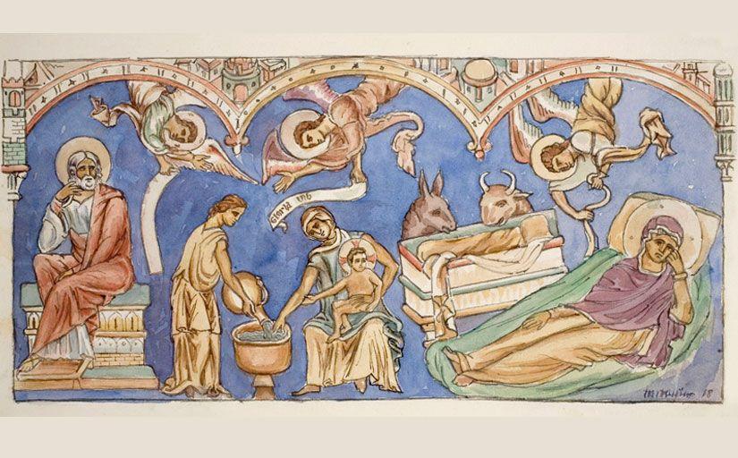 Un estudi de les pintures abans de la guerra fetes per estudiants d'història de l'art, alumnes de Domènech i Muntaner -  MNAC