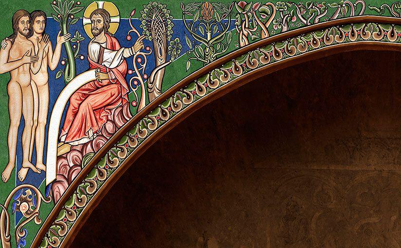 Recreació de les pintures de Sixena feta pel MNAC -  MNAC