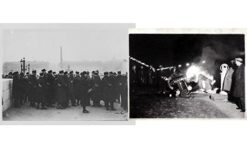 Manifestacions a Paris pel cas Stavisky (febrer 1934) -  Wikimedia Commons