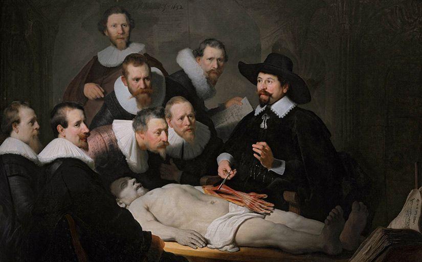 'Lliçó d'anatomia del Doctor Nicolaes Tulp', de Rembrandt -  Rembrandt / Wikimedia Commons
