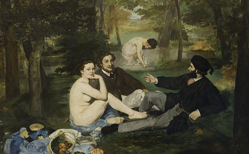 'El dinar campestre', d'Édouard Manet