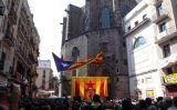 Homenatge a Lluís Maria Xirinacs al Fossar de les Moreres -  Wikimedia Commons