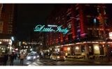 Una imatge actual de Little Italy a Manhattan, Nova York