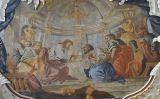 """Representació d'Andreas Meinard de l'escena del Sant Sopar en què Jesucrist pronuncia """"Aquest és el meu cos""""<br type=""""_moz"""" /> -  Wikimedia Commons"""