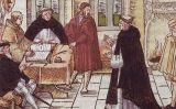 La trobada entre Martí Luter i el cardenal Gaetano -  Wikimedia Commons