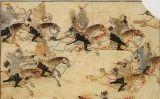 Il·lustració que mostra els mongols en guerra -  Wikimedia Commons