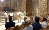 L'alcalde de Cardona, Ferran Estruch, agraeix el guardó -  Albert Bernat