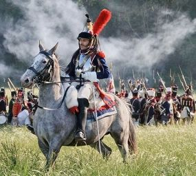 Recreació, el 2011, de la batalla de Waterloo -  Myrabella / Wikimedia Commons