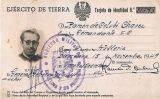 Targeta d'identitat militar de Ramon de Colubí