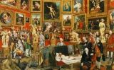 Tribuna dels Uffizi, de Johann Zoffany -  Wikimedia Commons
