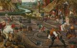 Jardiners pintats per P. Brueghel el Jove -  Wikimedia Commons