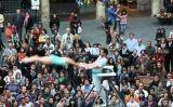 Un dels espectacles de la fira Trapezi de Reus -  Fira Trapezi