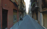 Captura del Google Street View del carrer Francisco Giner de Barcelona