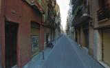 Captura del Google Street View del carrer Francisco Giner de Barcelona
