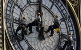 Netejant el Big Ben -  Wikimedia Commons