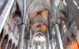 Santa Maria del Mar, interior de la nau central -  Wikimedia Commons