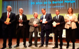 Francesc Guardans, Oriol Soler, Joan Francesc Mira, Oriol Junqueras, Jaume Giró i Joan Carles Girbés