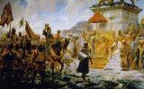 Entrada de Roger de Flor a Constantinoble, del pintor malagueny José Moreno Carbonero (1888).